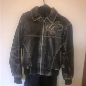 Unisex Pelle Pelle leather jacket